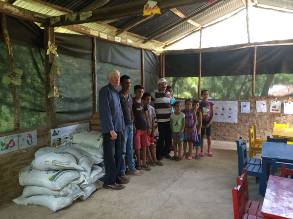 500 pounds of seed for farmers